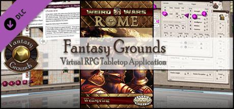 Fantasy Grounds - Weird Wars Rome: Wellspring (Savage Worlds)