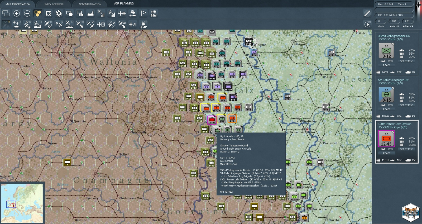 Gary Grigsby's War in the West bei Steam on