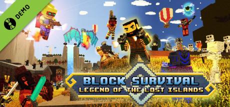 Block Survival: Legend of the Lost Islands Demo