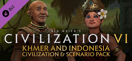 Civilization VI - Khmer and Indonesia Civilization & Scenario Pack