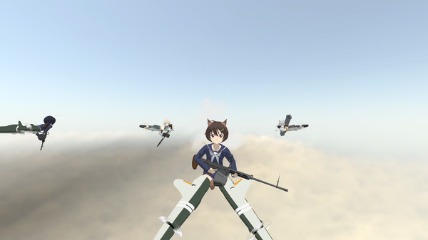 скриншот 502nd JFW BRAVE WITCHES VR Operation Baba-Yaga 0