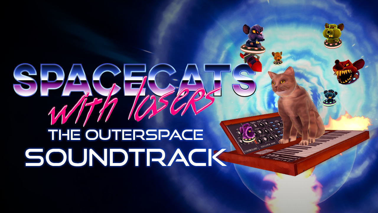 Spacecats with Lasers - Soundtrack · AppID: 646110
