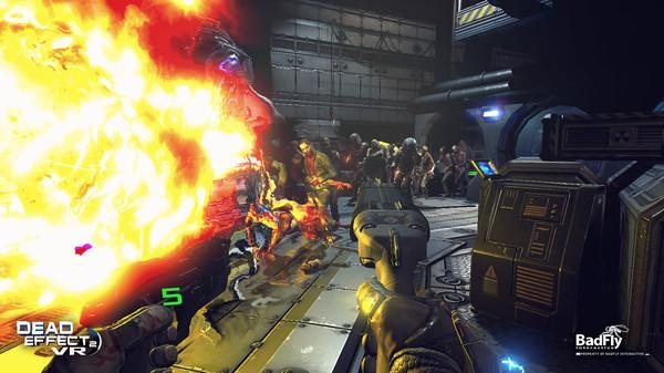 Screenshot of Dead Effect 2 VR
