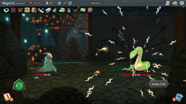 Screenshot of Slay the Spire