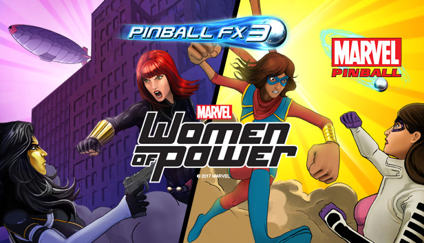 Pinball FX3 - Marvel's Women of Power - Info - IsThereAnyDeal
