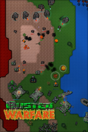 Rusted Warfare - RTS poster image on Steam Backlog