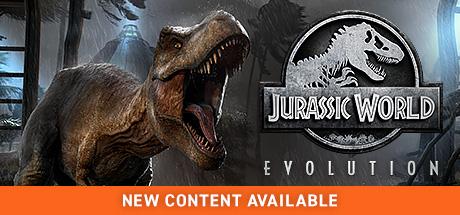 Jurassic World Evolution Cover art wide Steam
