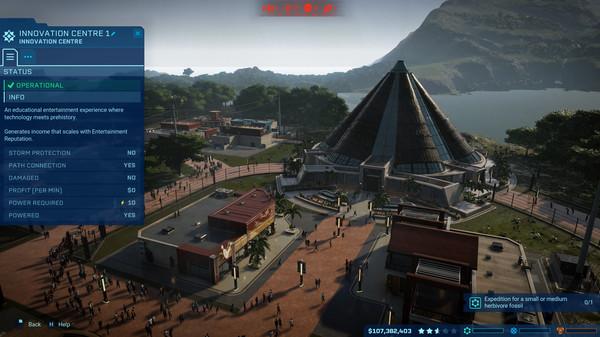 скриншот Jurassic World Evolution 1