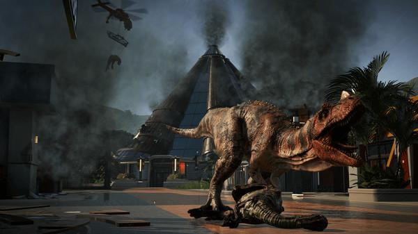 скриншот Jurassic World Evolution 3