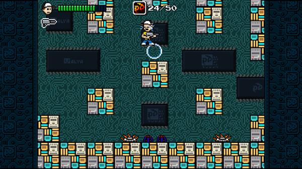 Скриншот из Pixel Devil and the Broken Cartridge