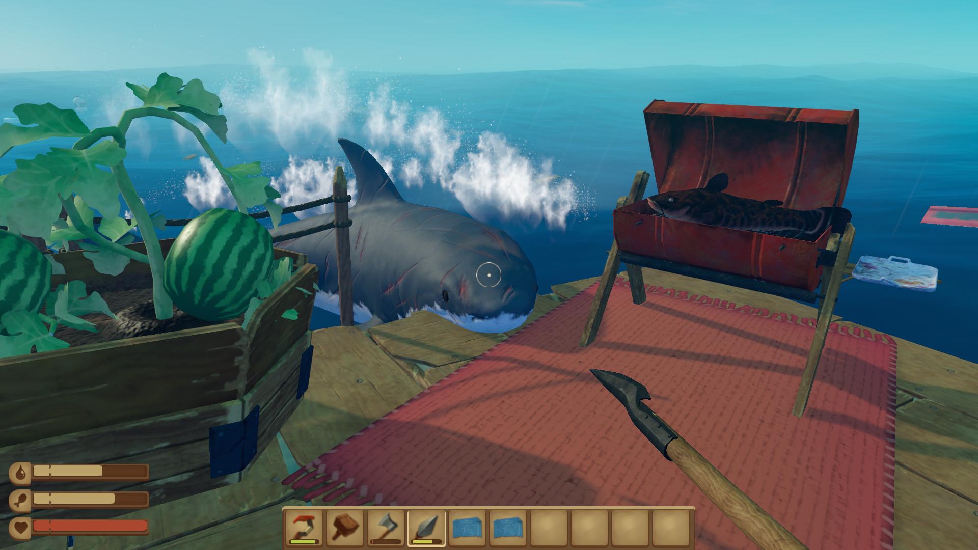 download raft creative mode apk