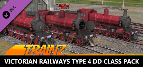 Trainz 2019 DLC: Victorian Railways Type 4 DD Class Pack - Canadian Red