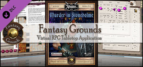 Fantasy Grounds - U02: Murder in Stoneholme (PFRPG)