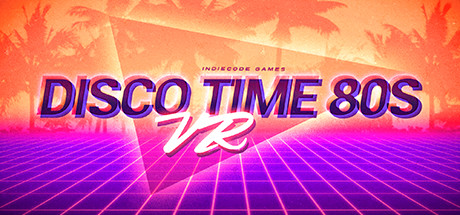 Game Banner Disco Time 80s VR