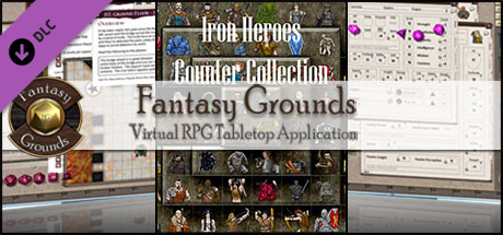 Fantasy Grounds - Iron Heroes Counter Collection (Token Pack)
