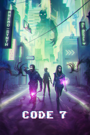 Code 7: A Story-Driven Hacking Adventure poster image on Steam Backlog