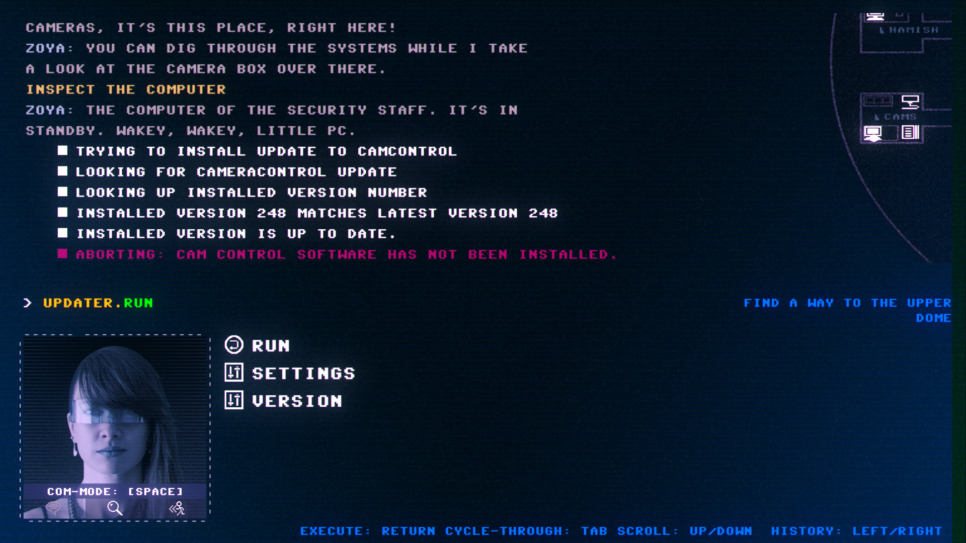 Code 7: A Story-Driven Hacking Adventure