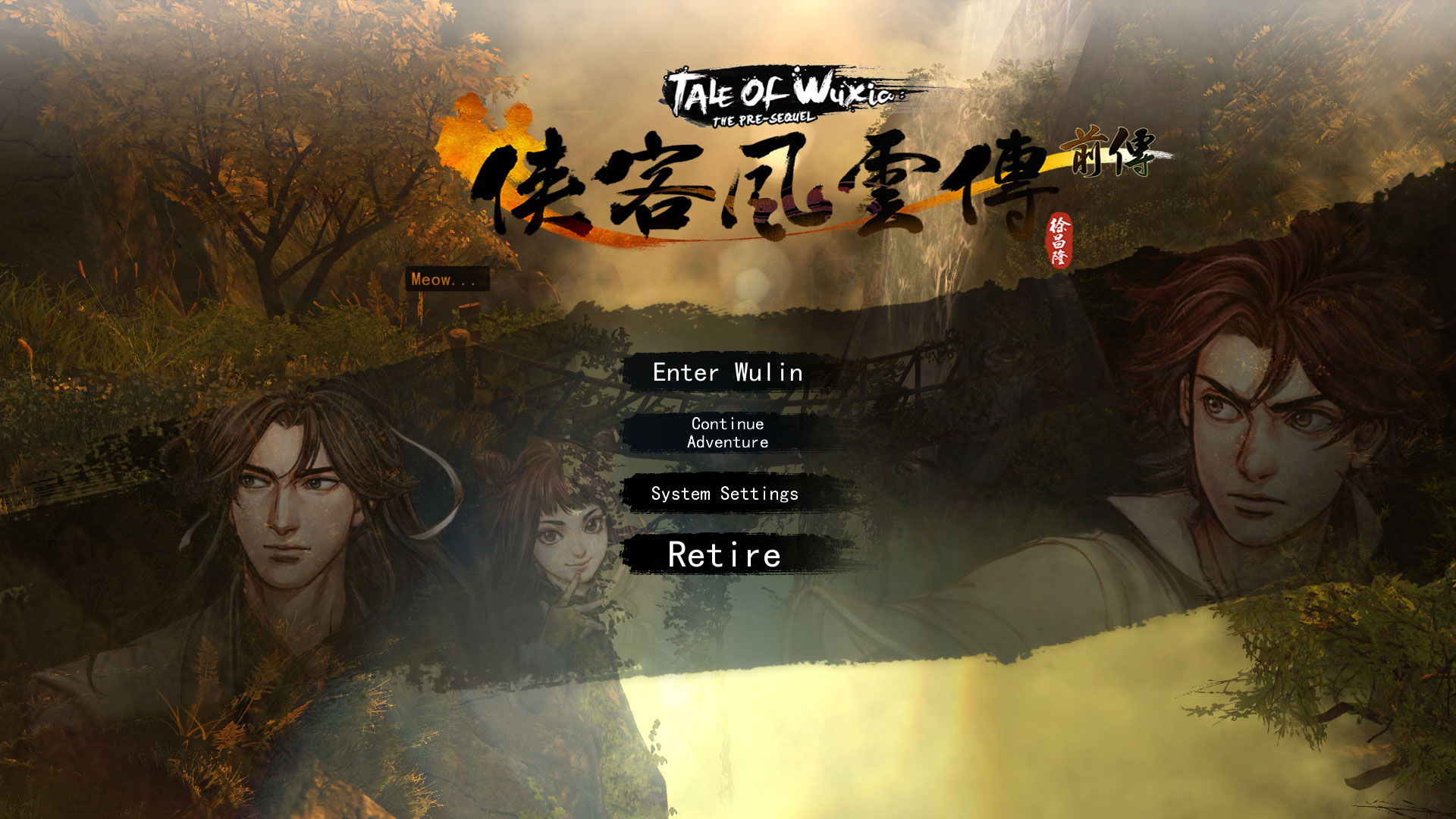 Tale of Wuxia: The Pre-Sequel - Tai game | Download game