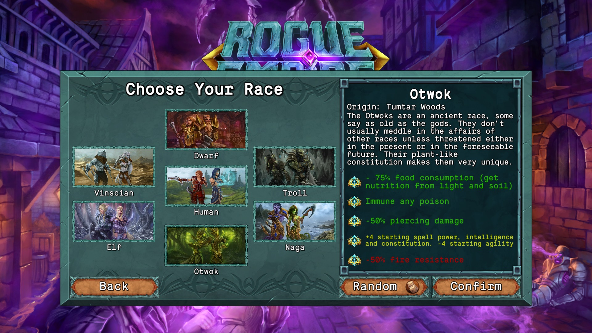 Rogue Empire Game