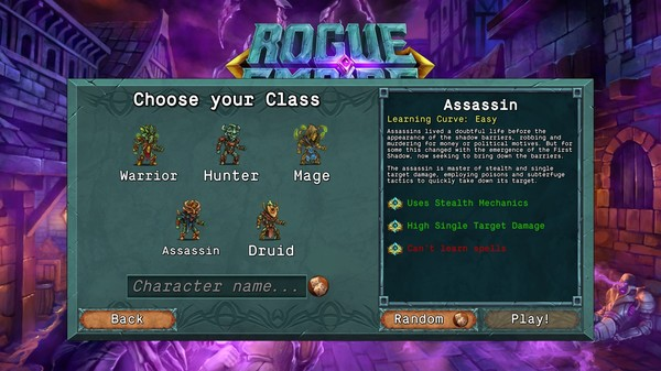 Rogue Empire Dark Heroes-PLAZA [CRACK]