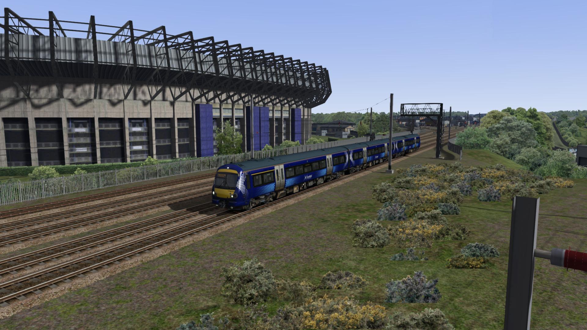 train simulator edinburgh glasgow route add on on steam. Black Bedroom Furniture Sets. Home Design Ideas
