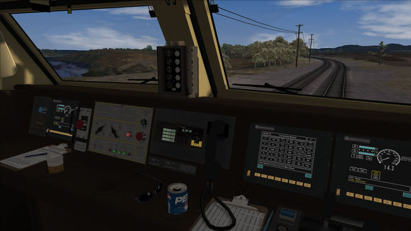 скриншот Railworks 2 P42DC Genesis 5
