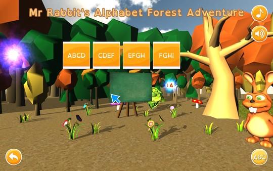 Mr Rabbit's Alphabet Forest Adventure