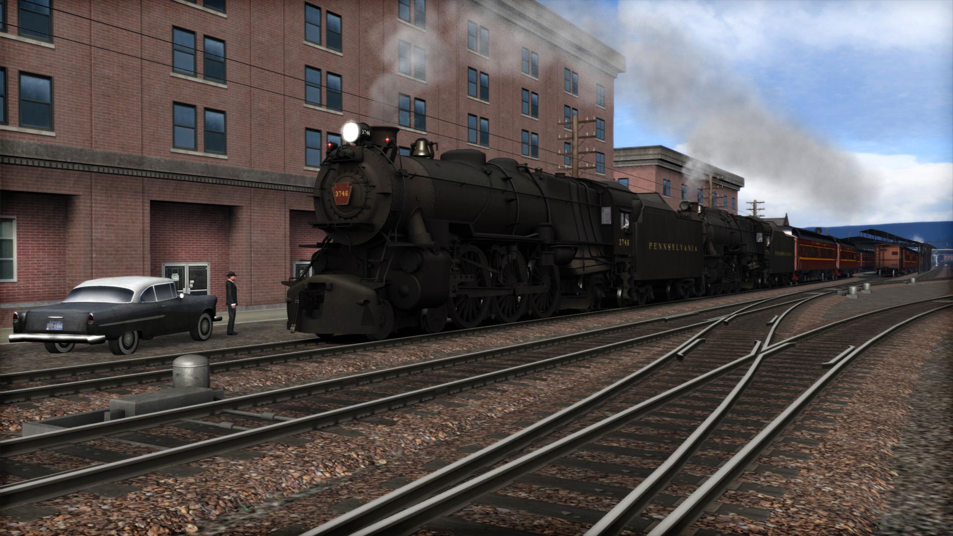 Train Simulator: PRR K4 Loco Add-On
