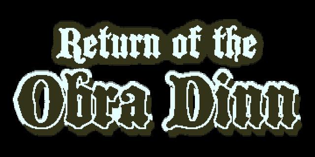 Return of the Obra Dinn - Steam Backlog