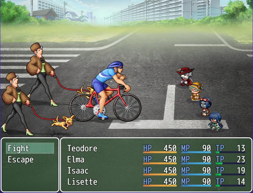 RPG Maker MV - Modern Day Menace Battlers