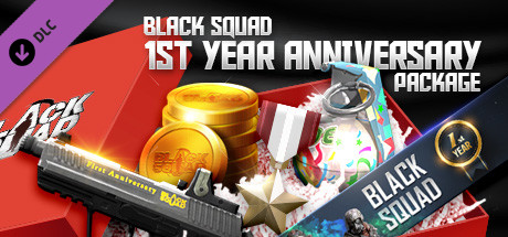 Blacksquad 1ST YEAR ANNIVERSARY PACKAGE