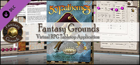Fantasy Grounds - 50 Fathoms Online Gaming Tokens (Savage Worlds) (Token Pack)