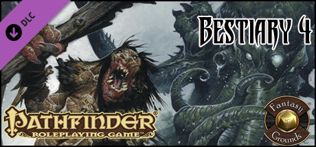 Fantasy Grounds - Pathfinder RPG - Bestiary 4 Pack (PFRPG) on Steam