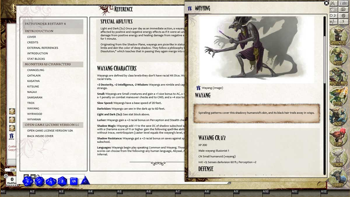 Fantasy Grounds - Pathfinder RPG - Bestiary 4 Pack (PFRPG)