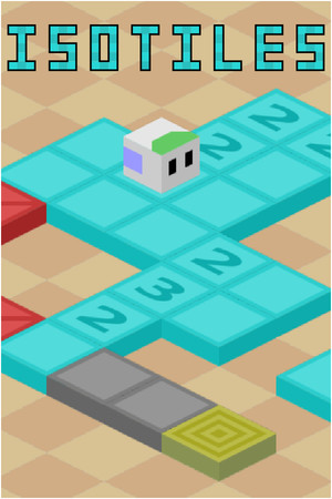 Isotiles - Isometric Puzzle Game poster image on Steam Backlog