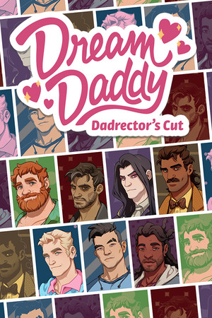 Dream Daddy: A Dad Dating Simulator poster image on Steam Backlog