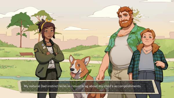 Screenshot of Dream Daddy: A Dad Dating Simulator