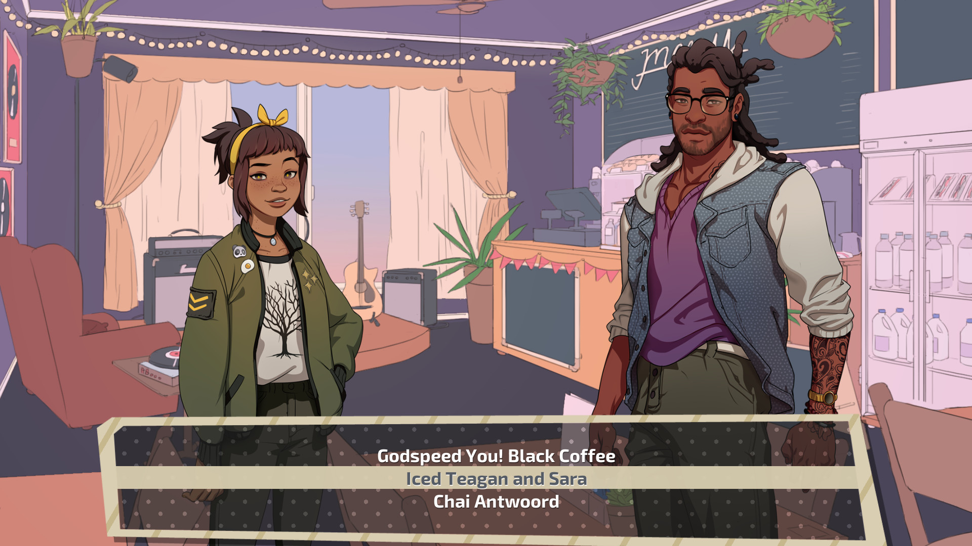 Dream Daddy: A Dad Dating Simulator Screenshot 2