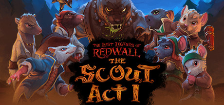 The Lost Legends of Redwall  The Scout Capa