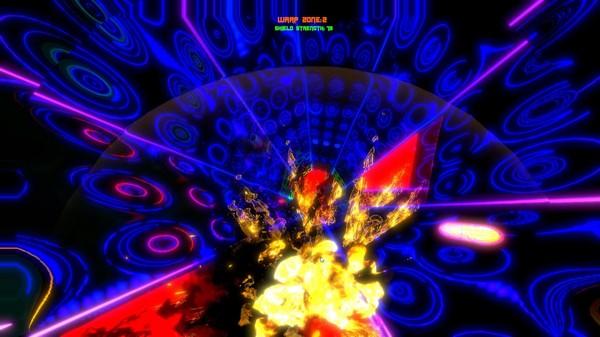 Скриншот из Warp Rider
