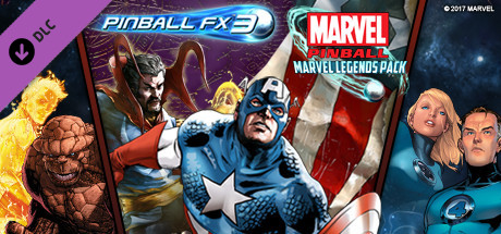 Pinball FX3 - Marvel Pinball: Marvel Legends Pack
