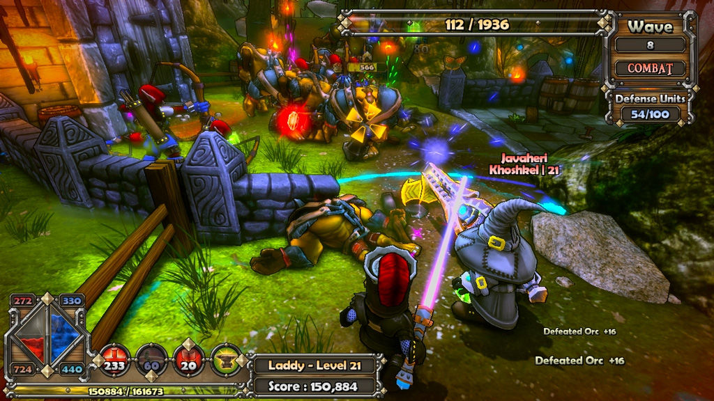 Dungeon Defenders 2011 pc game Img-4