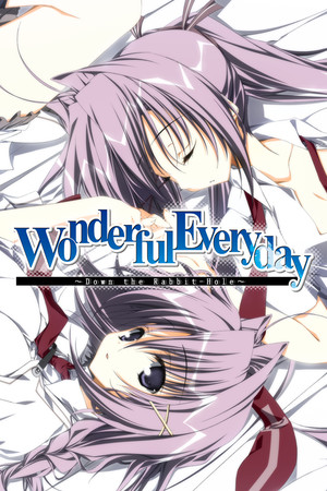 Wonderful Everyday Down the Rabbit-Hole poster image on Steam Backlog