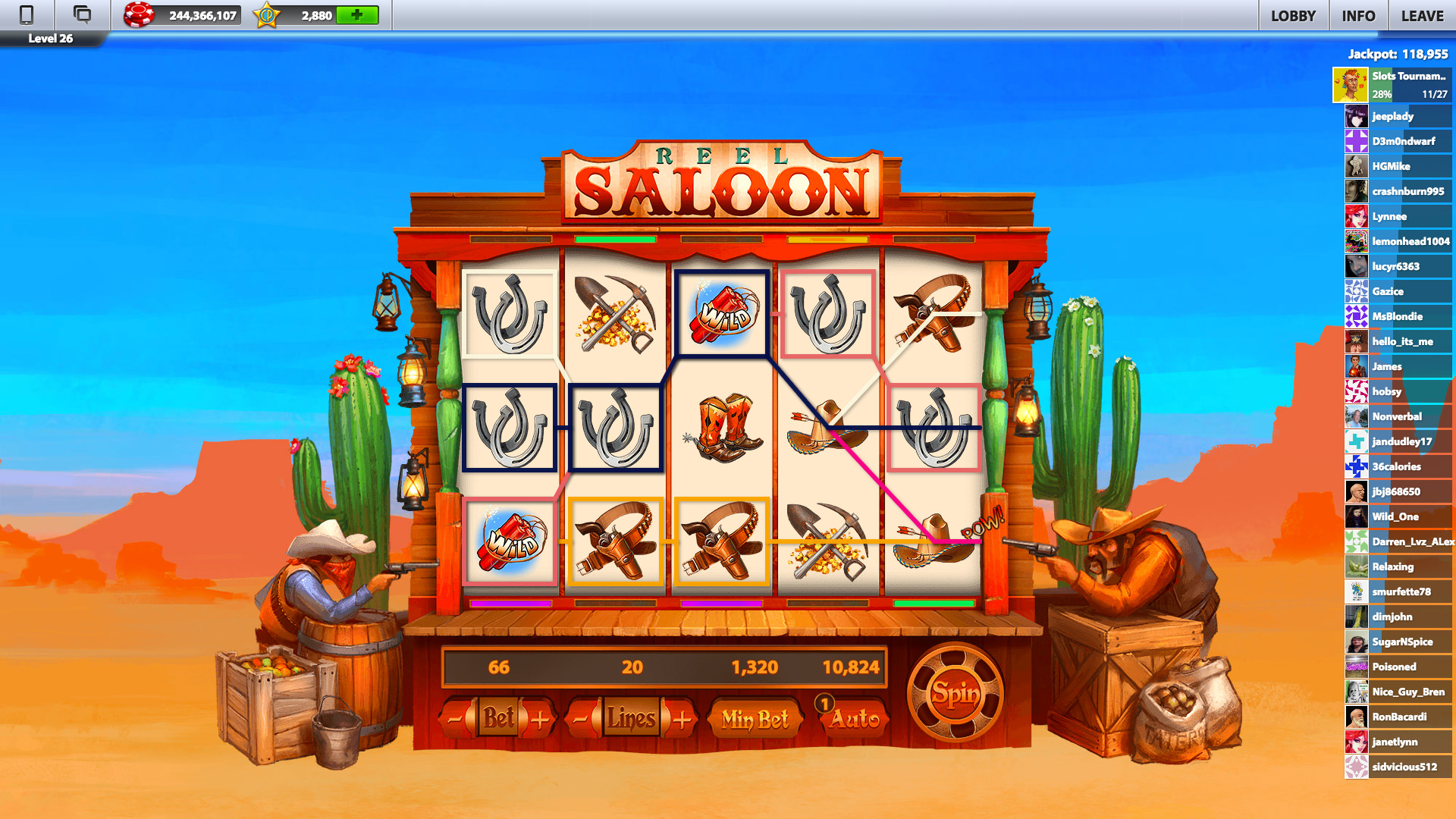 1000 free spins
