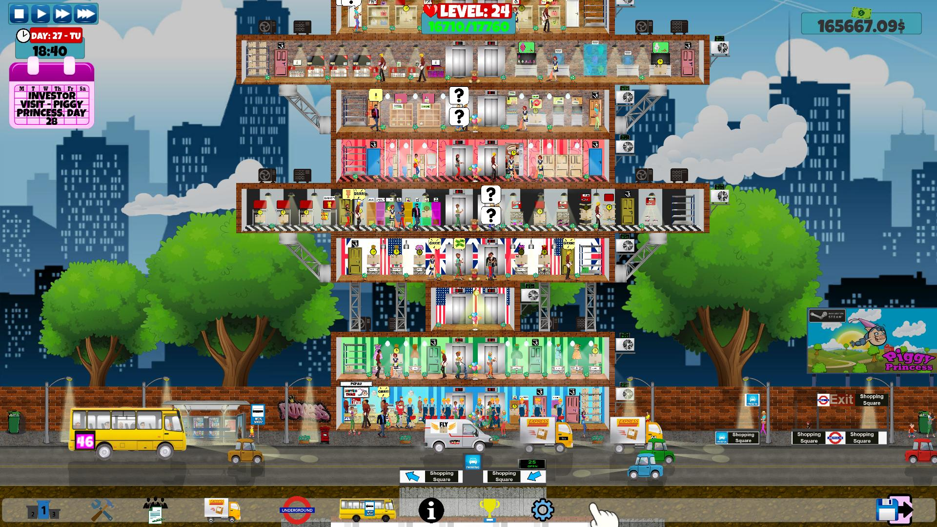 shopping mall tycoon 破解 版