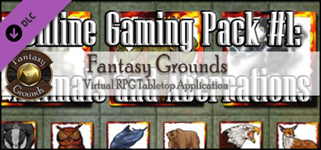 Fantasy Grounds - Online Gaming Pack #1: Animals & Aberrations
