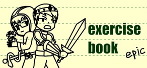 exercise book epic cover art