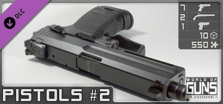 World of Guns: Pistols Pack #2