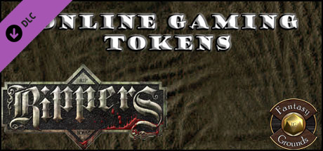 Fantasy Grounds - Rippers Online Gaming Figure Flats (Token Pack)