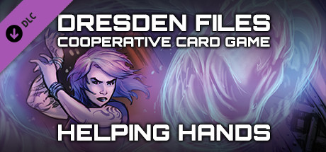 Dresden Files Cooperative Card Game - Helping Hands